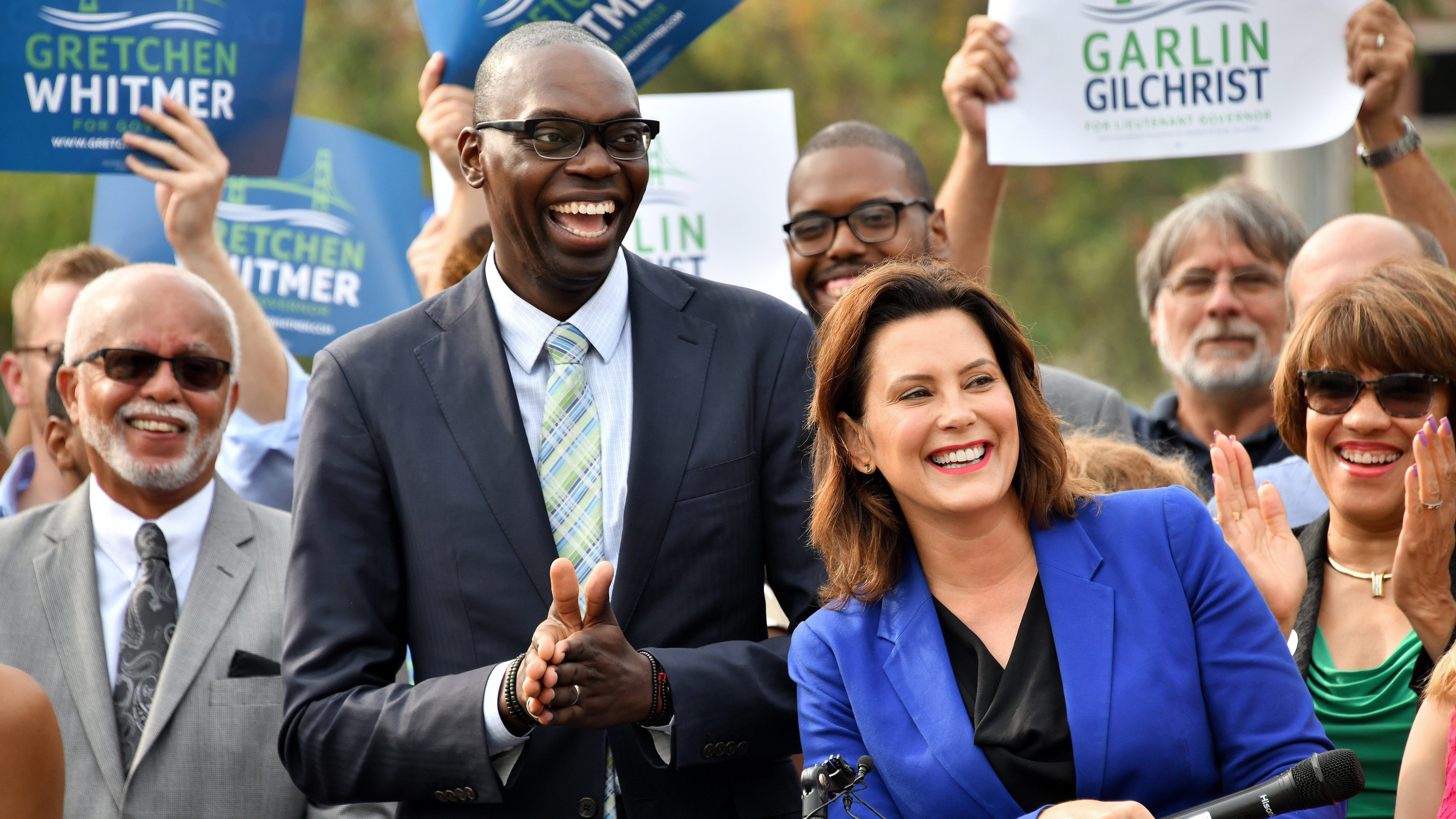 Whitmer picks energy over experience with Gilchrist selection
