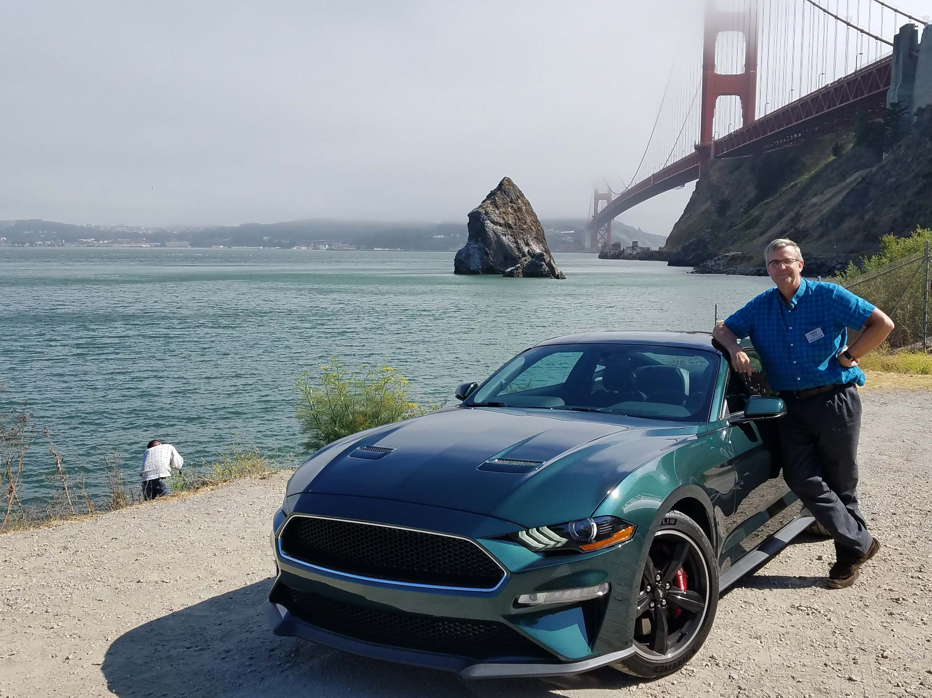 Detroit News auto critic Henry Payne followed Steve McQueen's Bullitt tire tracks around San Francisco in a new, 2019 Ford Mustang Bullitt.