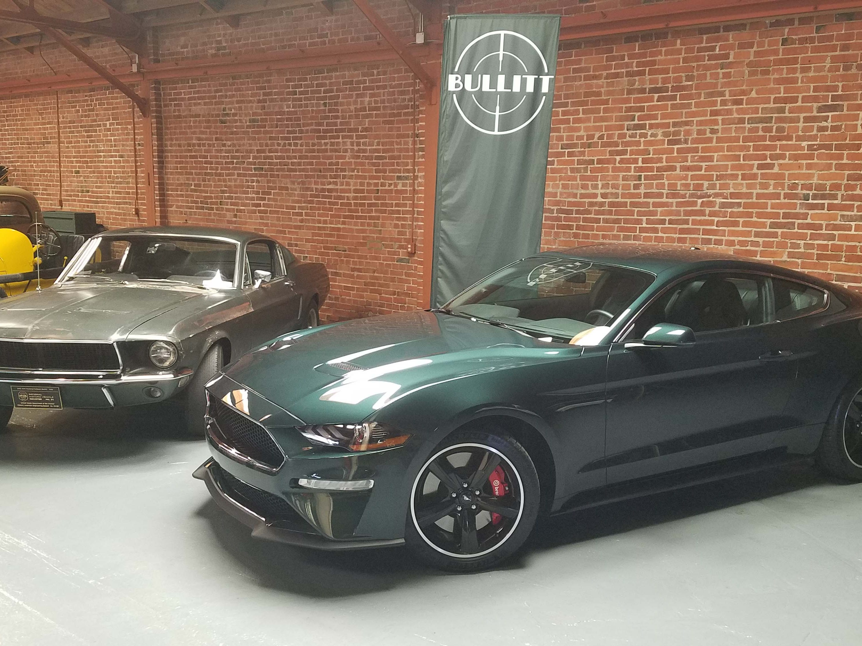 """The fastback window in the 2019 Ford Mustang Bullitt is identical in angle to the original,1968 Ford Mustang Fastback in the movie """"Bullitt."""""""