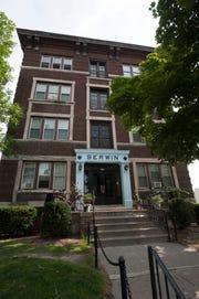 Berwin apartment on Henry Street in Detroit.