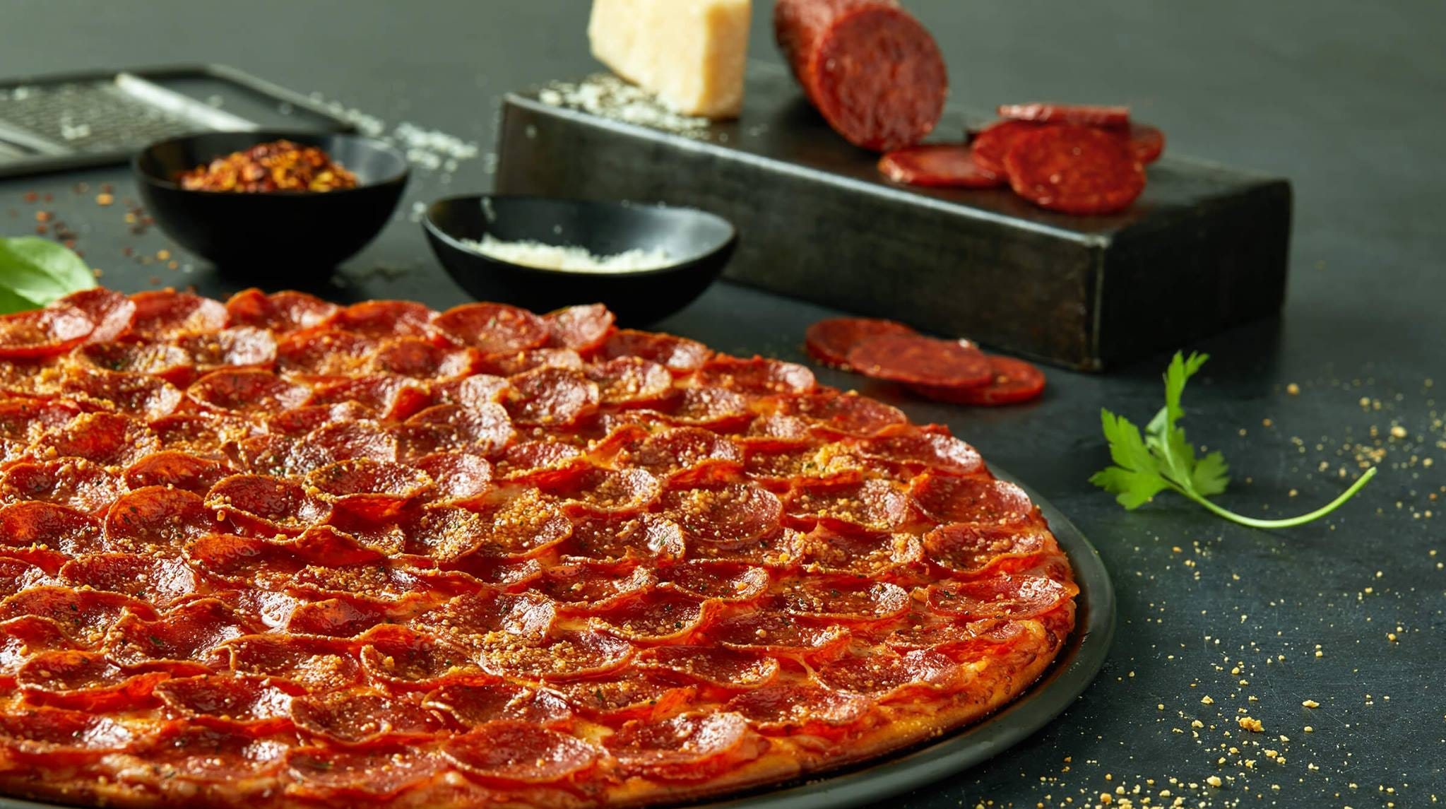 Donatos Pizza is looking at Evansville's East Side for a new location.