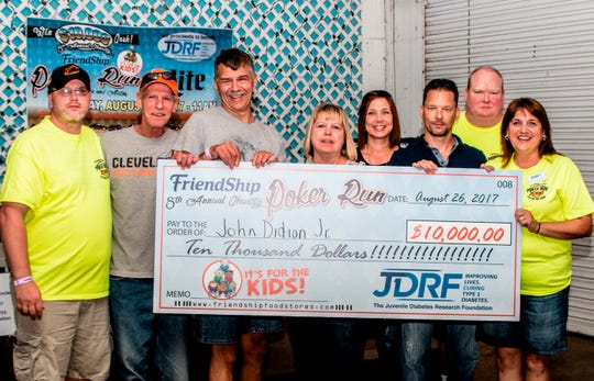 In 2017, FriendShip held its 8th Annual Charity Poker run and presented a $10,000 gift.