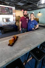 Eight-Foot Brewing opened July 28, 2018 in Cape Coral. The brewery specializes in small-batch beers and opened after three years of planning by husband and wife Roger and Alex Phelps.