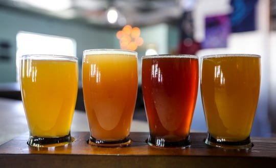 Beers from Cape Coral's Eight-Foot Brewing will be among those served at Saturday's Arts on Tap at the Alliance for the Arts in Fort Myers.