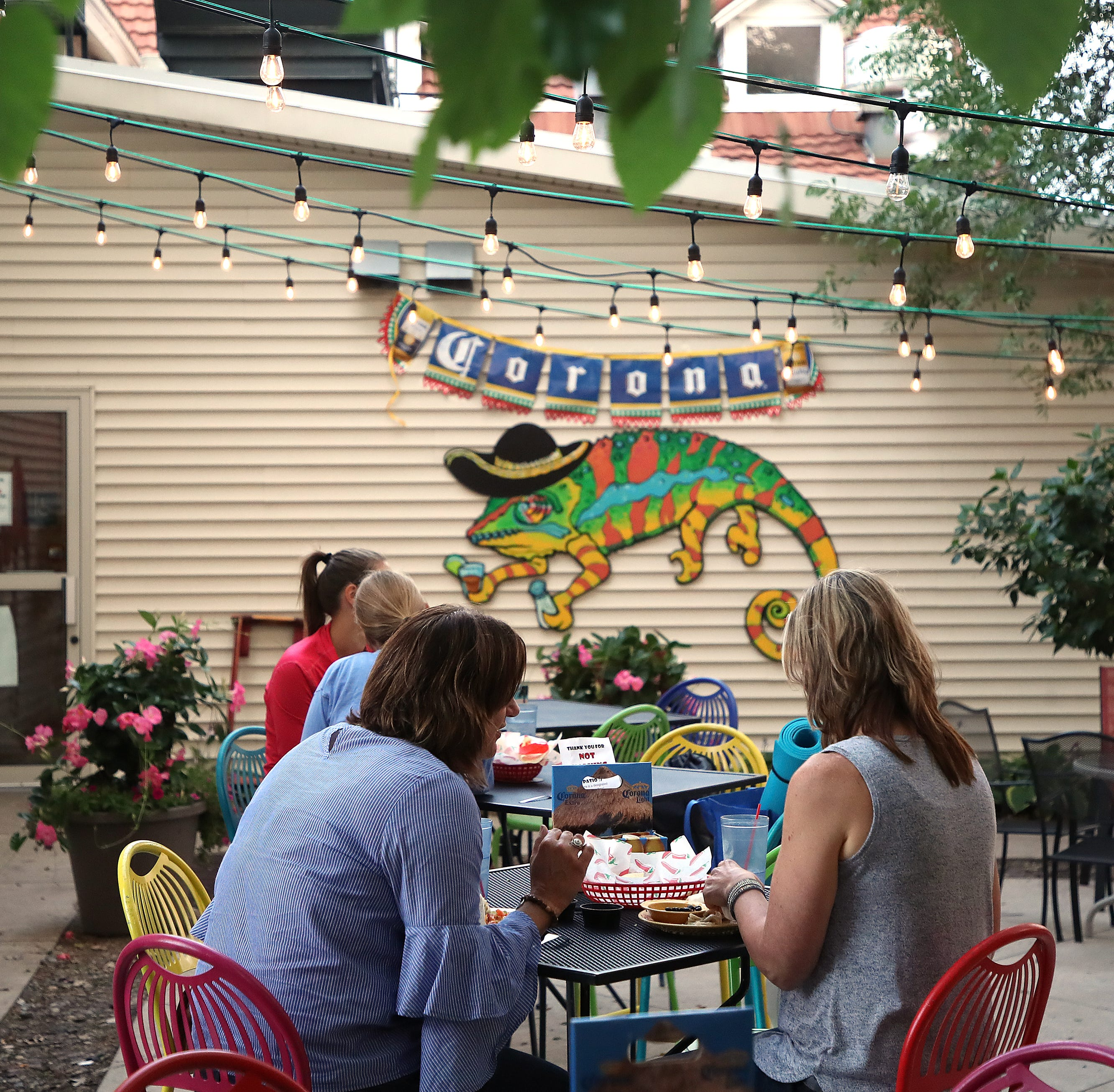 At Caliente's patio in De Pere, the vibe is colorful and the margaritas flavorful