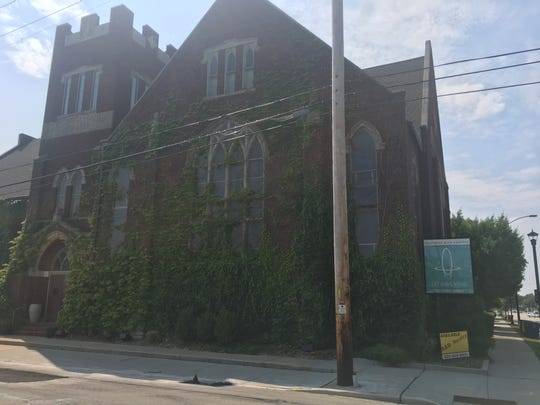 The former Presbyterian church at the corner of Monroe Avenue and Stuart Street has been the home of Arketype for many years. The marketing firm closed in August 2018.