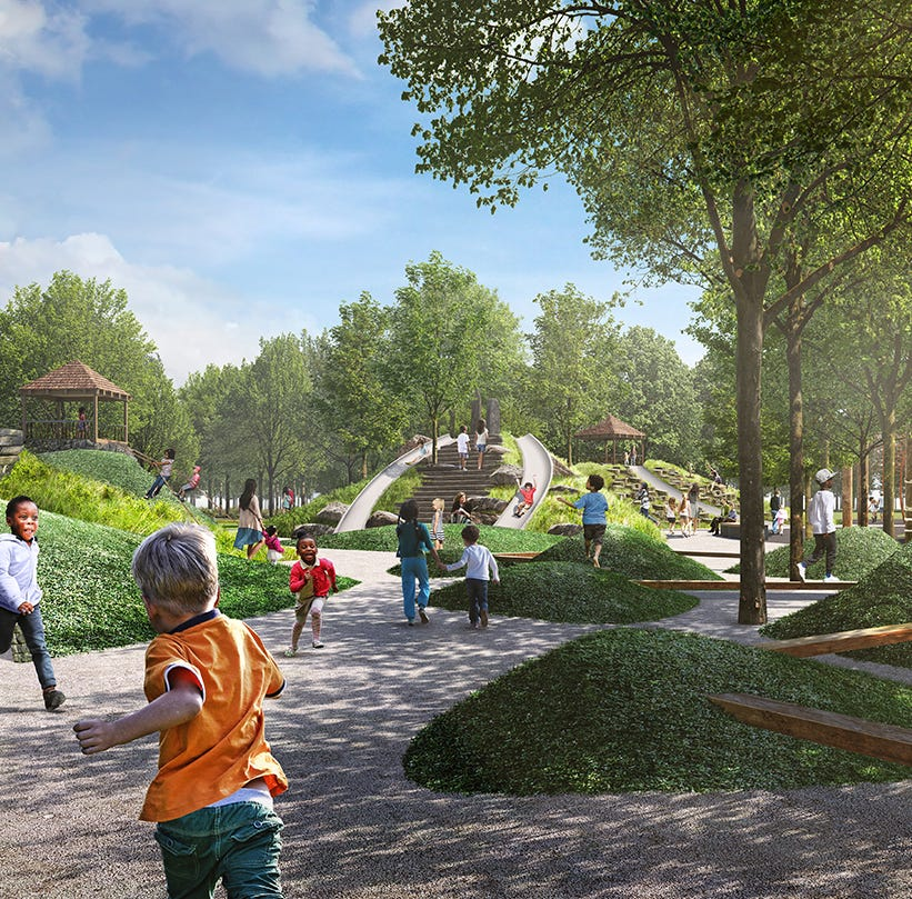Unity Park could cost near $73 million if the ultimate vision comes to fruition