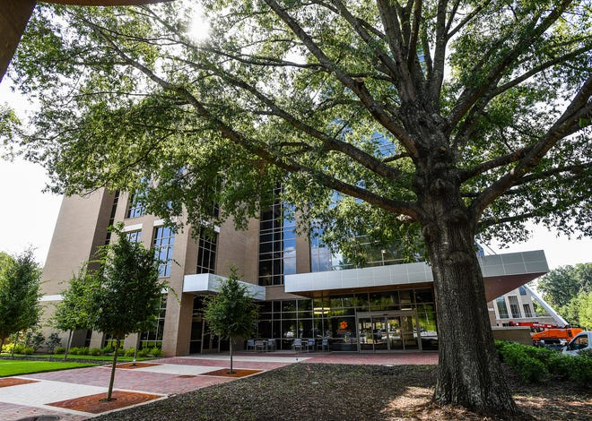 Clemson University's new nursing school in Greenville officially opened Tuesday, right next door to the University of South Carolina School of Medicine Greenville.