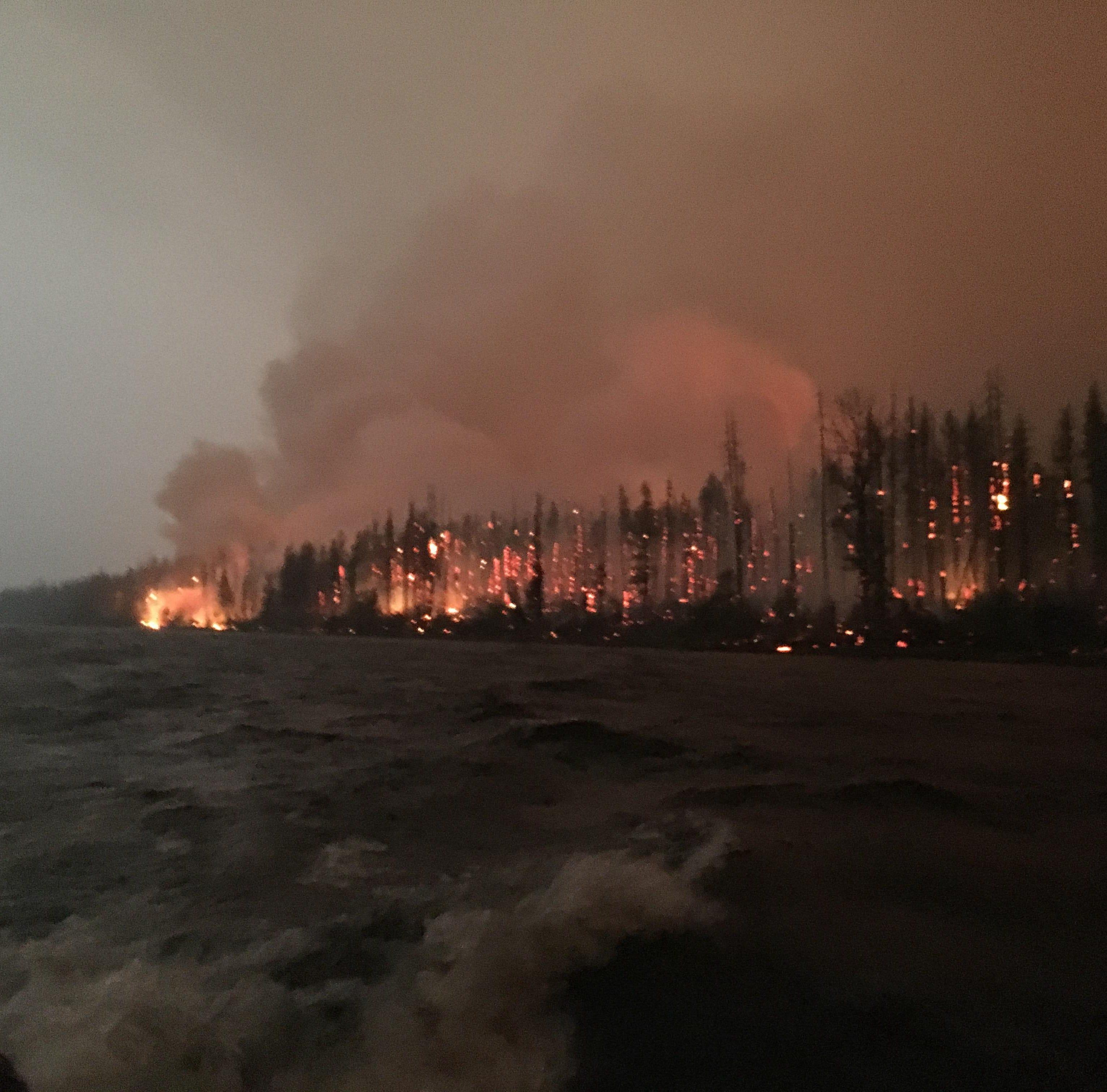 Glacier National Park Aug. 20 fires update