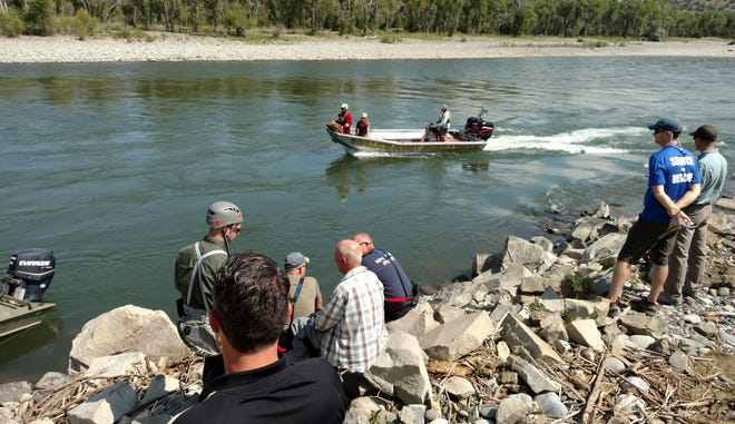 Search and rescue teams tried to find the body of Jomes Robert Anderson III along the Yellowstone River in July. Searchers recovered his body Sunday  near Springdale, about 16 river miles from where the drift boat he was in hit a bridge pylon in Livingston. His mother, Angie Anderson, also died in the incident.