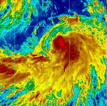 Typhoon Cimaron bears down on Northern Marianas