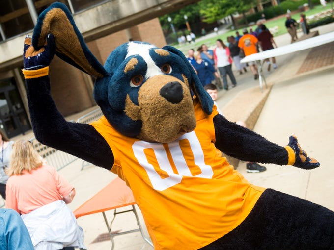 Miller Auto Plaza >> University of Tennessee Smokey mascot through the years