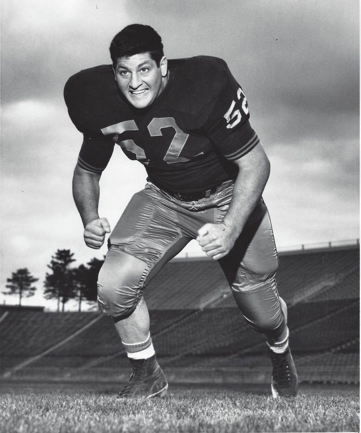 Purdue linebacker Jack Calcaterra