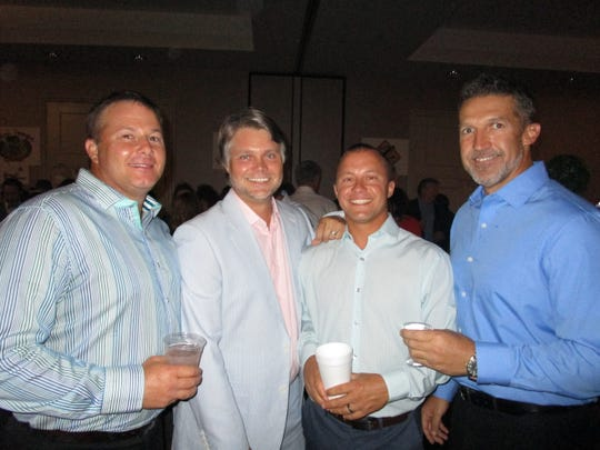 Jacques Poirien, Brian Jenkins, Stephen Aucoin and Rocky Guidry