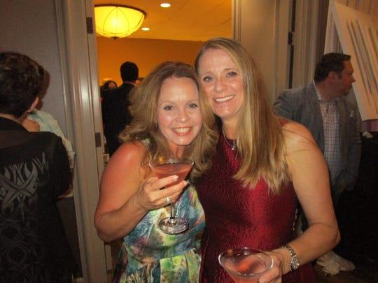 Jacey Simon and Amanda Galloway