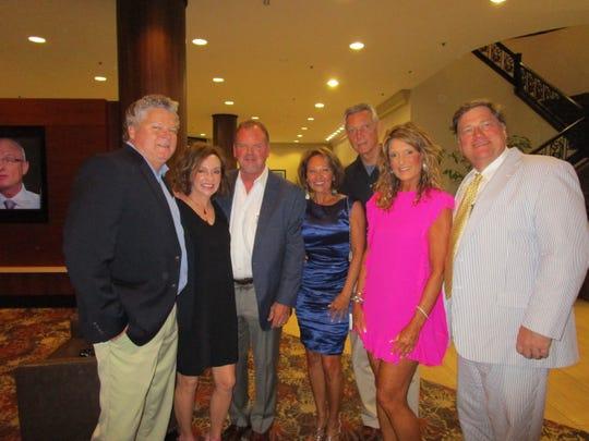 Keith Ortego, Cindy and Claiborne Self, Teri Desormeaux, Joe Herpin, Denise Durel and Lou Buatt