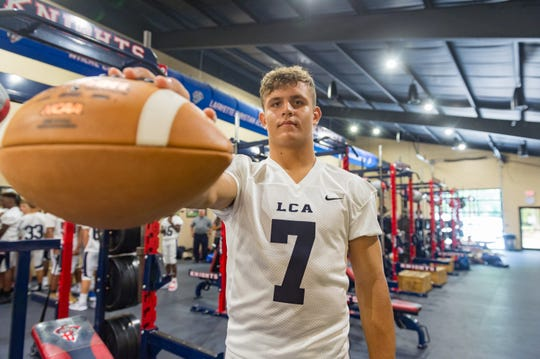 Lafayette Christian quarterback Zachary Clement is expected to return this fall with no limitations after last year's season-ending knee injury.