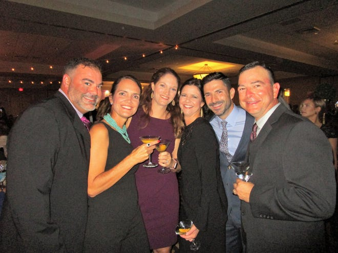 Jason and Kelly Abshire, Shelley Miller, Crystal and Ed Moody and Brian Miller