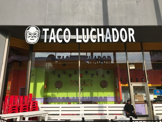 El Taco Luchador will open at 500 W. Jefferson St. on Aug. 30.