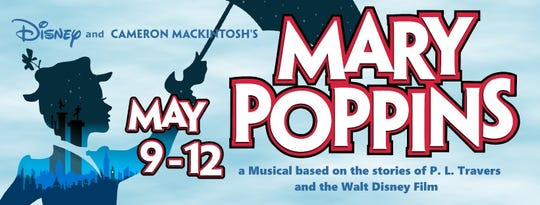 Manitowoc Masquers stages 'Mary Poppins' May 9-12, 2019.