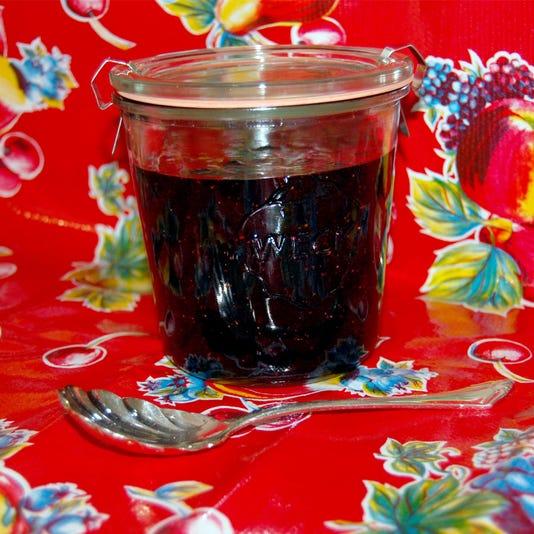 Freezer Blueberry Jam Use