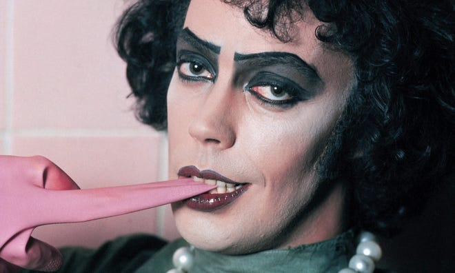 "Dr. Frank-N-Furter (Tim Curry) invites you to come up to the lab and see what's on the slab when ""The Rocky Horror Picture Show"" screens Friday at the Orpheum."