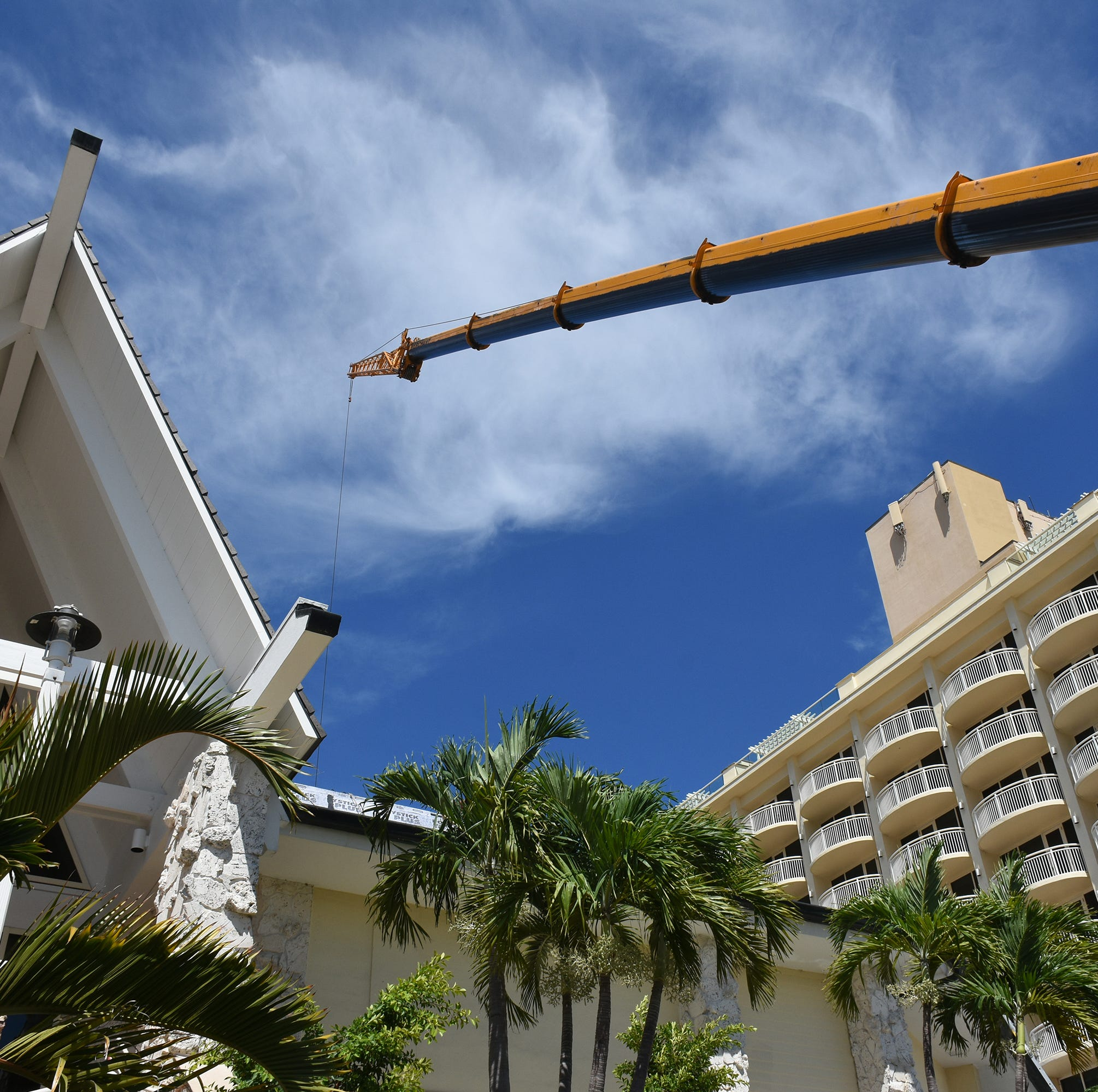 The finishing touches: JW Marriott works to complete renovations for season