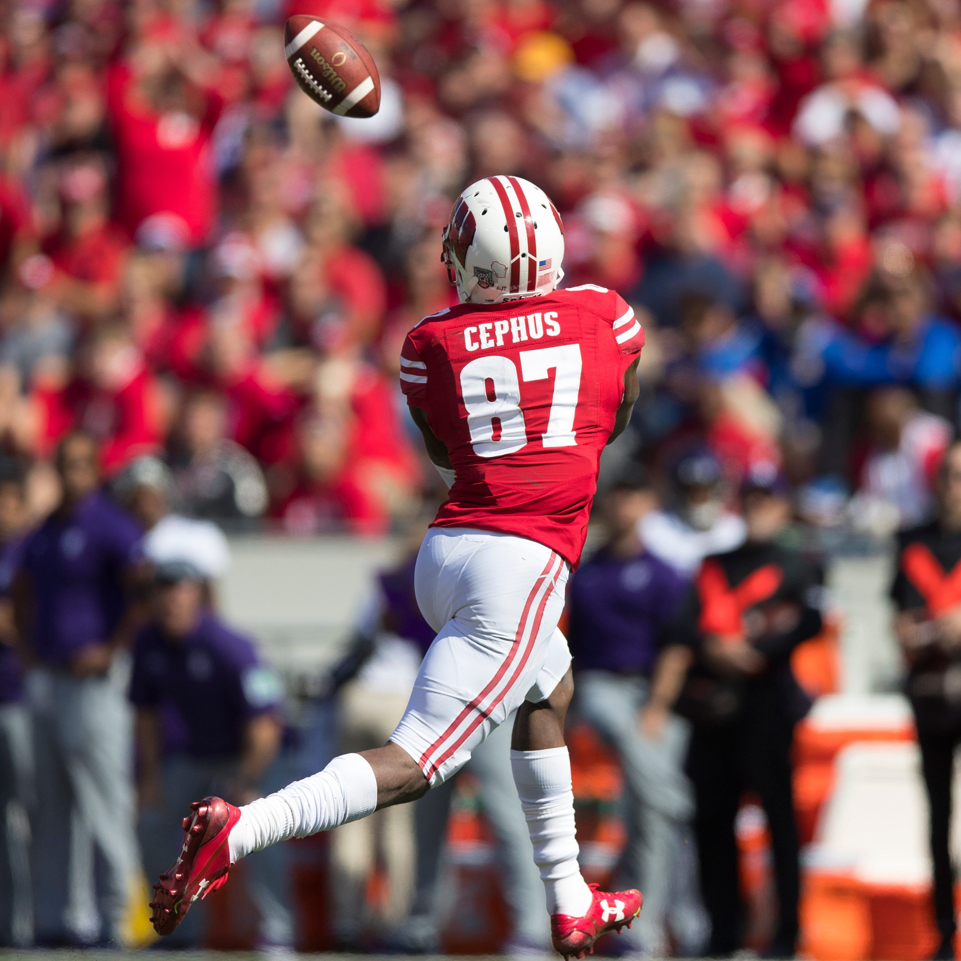 Badgers moving on without Quintez Cephus, as they did for the final five games in '17