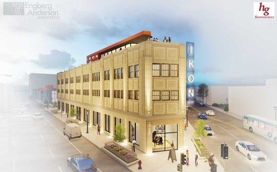 The former Milwaukee Mall, at West Fond du Lac and West North avenues, could be converted into a hotel under a new conceptual proposal.