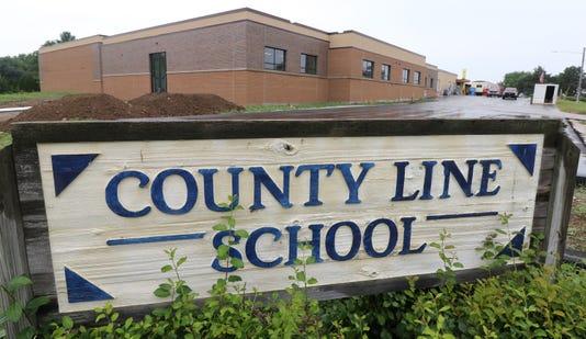 County Line School Redo Nears End