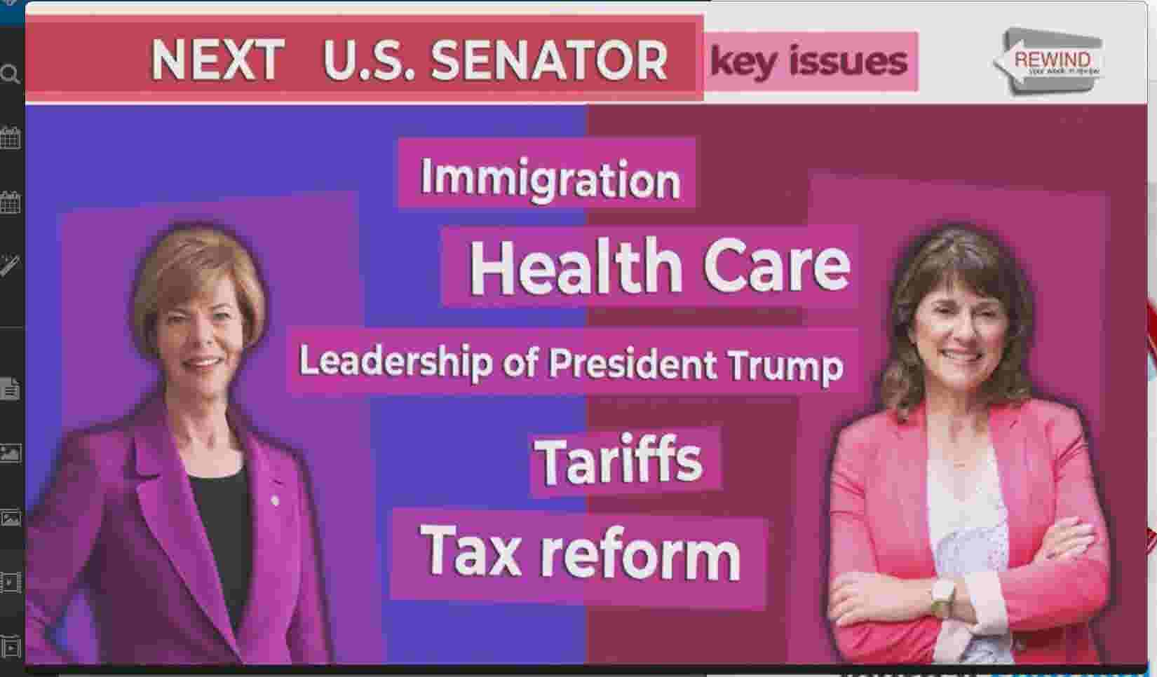 Five issues that will dominate the U S  Senate race between Tammy Baldwin  and Leah Vukmir
