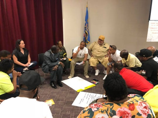 Community members gathered Wednesday, Aug. 15, to create a community action plan to curb Milwaukee's recent spike in gun violence.
