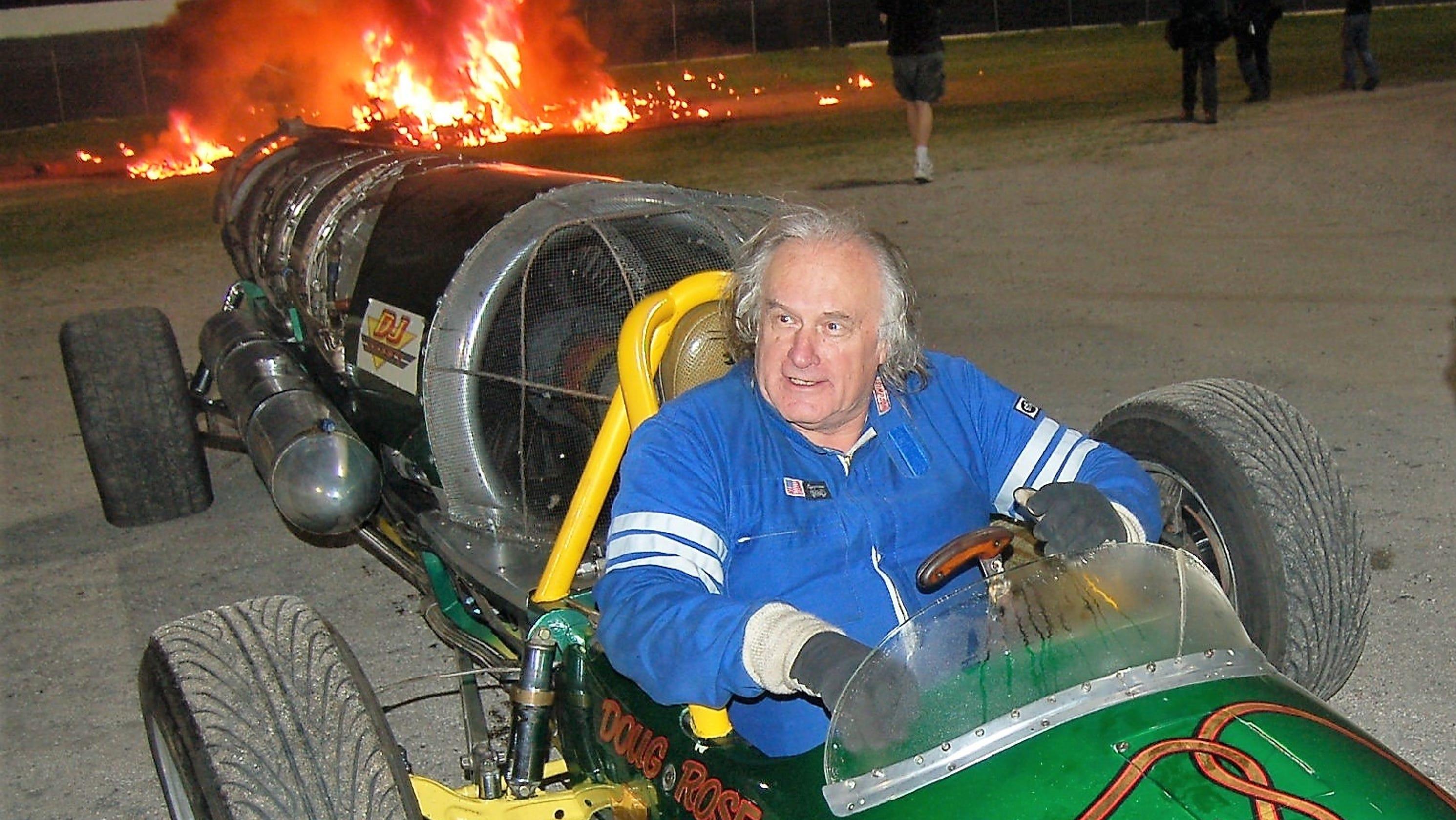 Jet car showman dies in Upper Michigan racetrack crash