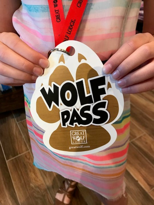 Great Wolf Lodge sells wolf passes, paw passes and pup passes so families can customize their kids' dry-land activities.