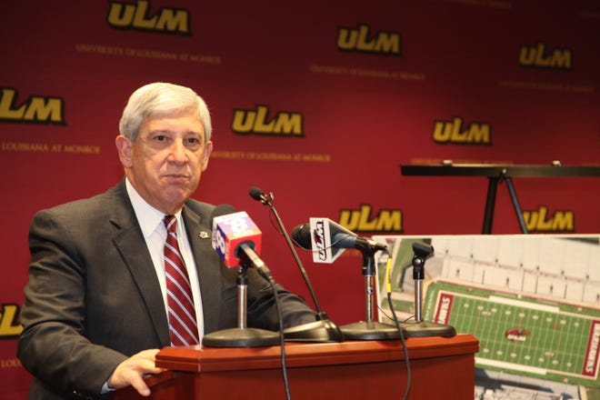 Nick Bruno Nick Bruno The University of Louisiana at Monroe Department of Athletics announces a $450,000 donation from JPS Aviation and JPS Equipment Rental for new FieldTurf at Malone Stadium during a news conference Monday. The field will be known as JPS Field.