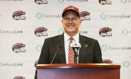 Ulm Athletic Director Nick Floyd
