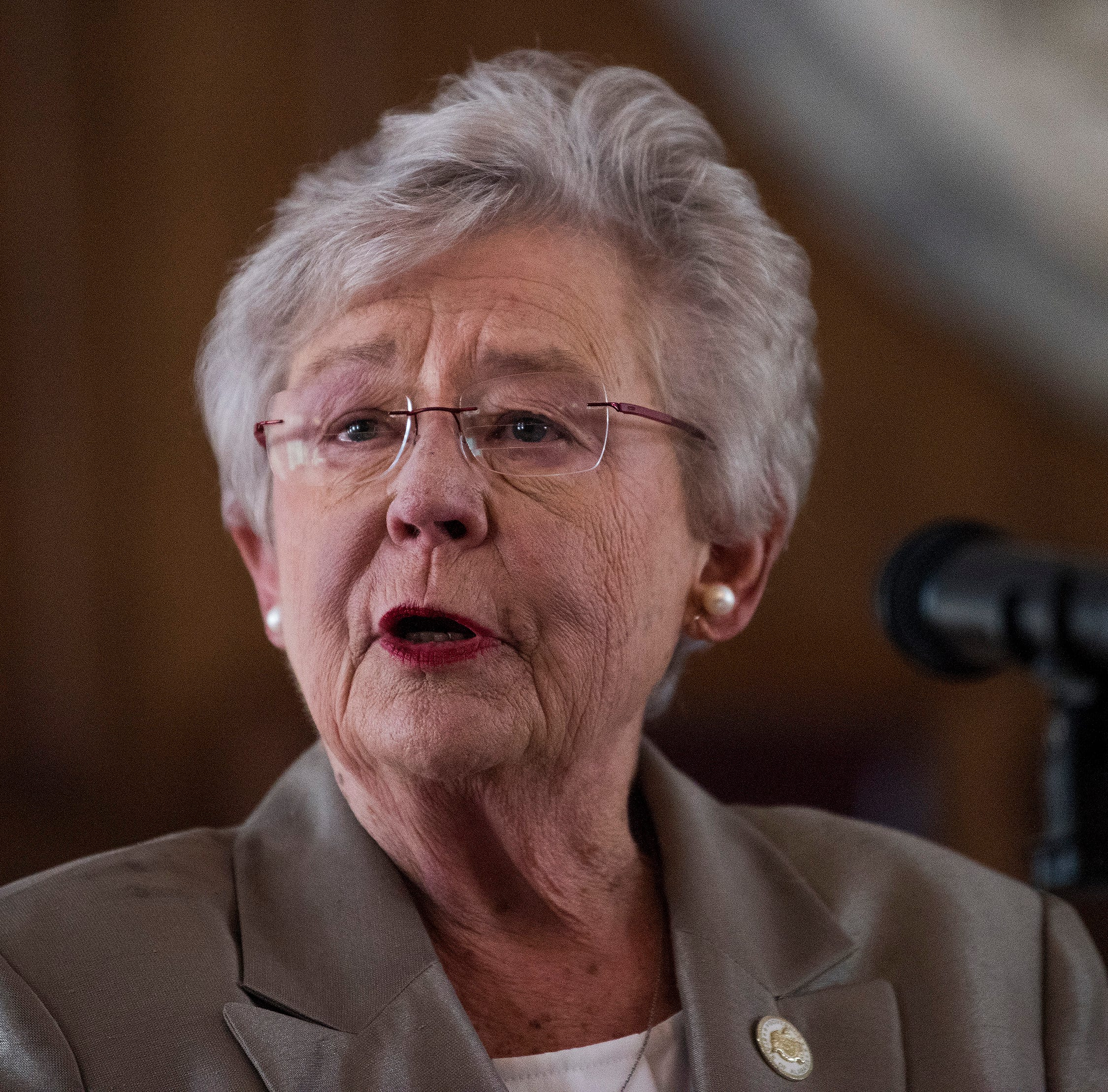 Governor Kay Ivey announces the Alabama Counts 2020 Census Committee during a a press conference at the Alabama Capitol Building in Montgomery, Ala. on Monday August 20, 2018.