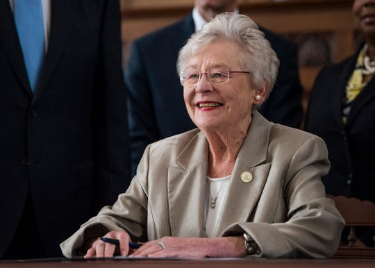 Governor Kay Ivey announces the Alabama Counts 2020 Census Committee during a press conference at the Alabama Capitol Building in Montgomery, Ala. on Monday August 20, 2018.