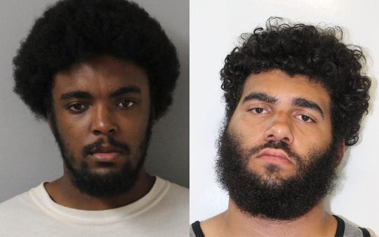 Lacory Lytle, left, and Demontrey Logsdon were taken into custody Aug. 20, 2018, for questioning in connection with a string of fatal shootings in the Nashville area.