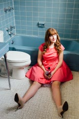 """Madeleine Hicks in """"Potty Mouth."""""""
