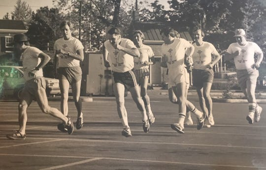 The then Franklin Cancer Run started in 1978 because a group of men in Williamson County wanted to support cancer research.