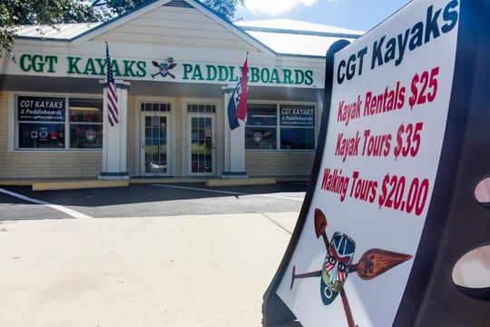CGT Kayaks & Standup Paddleboards in Bonita Springs, as seen on Monday, August 20, 2018.