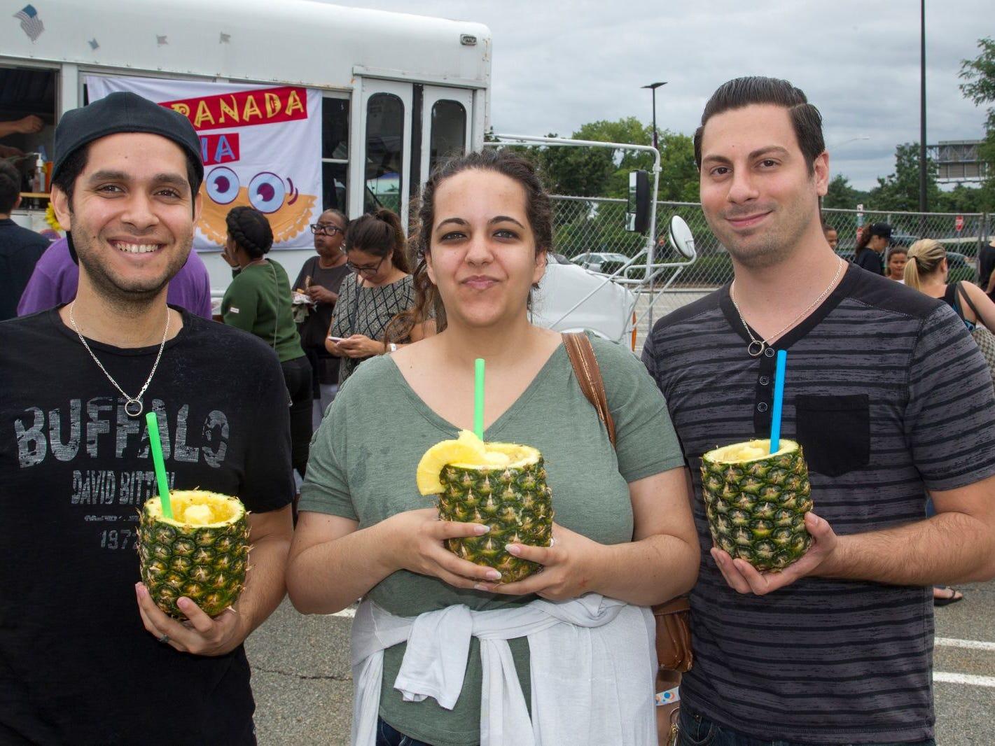 Javier, Dani, Randi. Paramus Food Truck Festival at Westfeld Garden State Plaza. 08/19/2018