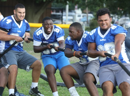 The South Bergen 7 On 7 Shootout And Linemen's Challenge