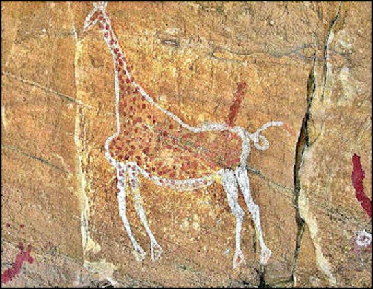 A rock art sample from the Sahara Desert.  Rock art and the Sahara Desert will be the topic of a Feed Your Mind course hosted by the Doña Ana Arts Council.
