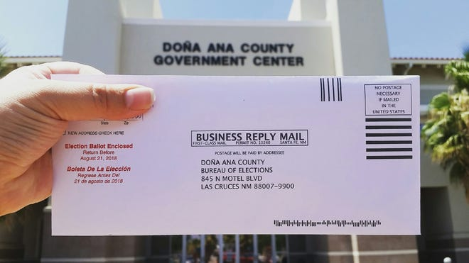 Ballots for the city of Las Cruces' general-obligation bond election must be turned in to the Doña Ana County Clerk's Office, 845 N. Motel Blvd., by 7 p.m. Tuesday, Aug. 21, 2018. Election officials are advising anyone who has not already submitted their completed ballot to hand-deliver it to the county clerk's office by that deadline. Otherwise, if a ballot is mailed, at this point, it is not likely to reach the clerk's office in time.