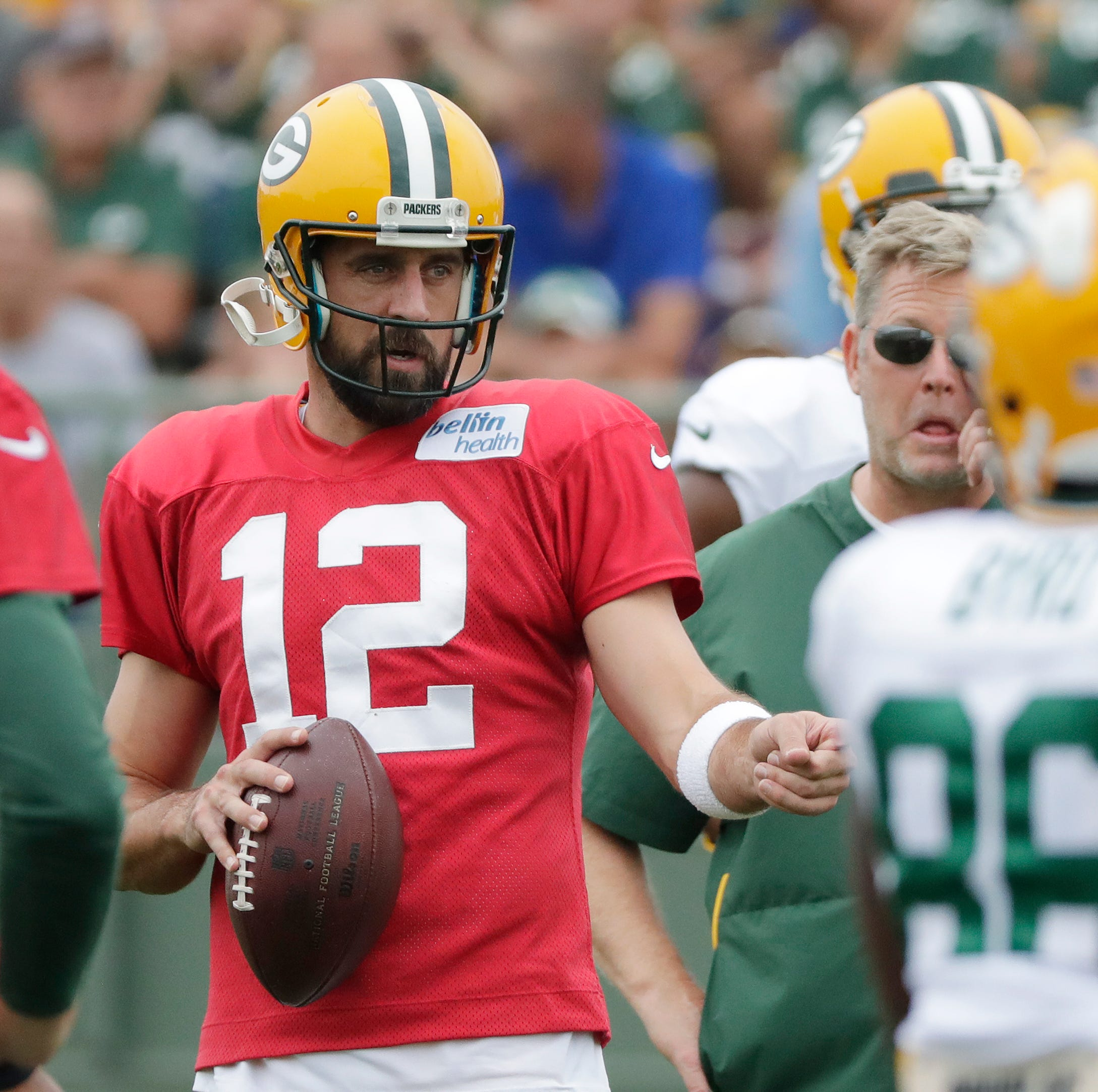 Packers Camp Insider: Plenty of benefits in benching Aaron Rodgers