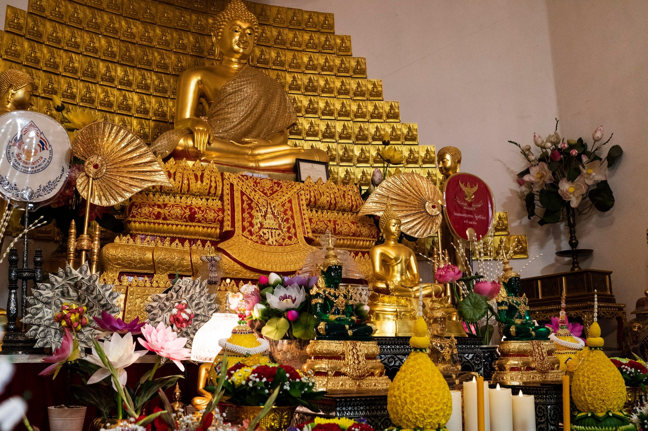 Wat Promkunaram Buddhist temple commemorates massacre