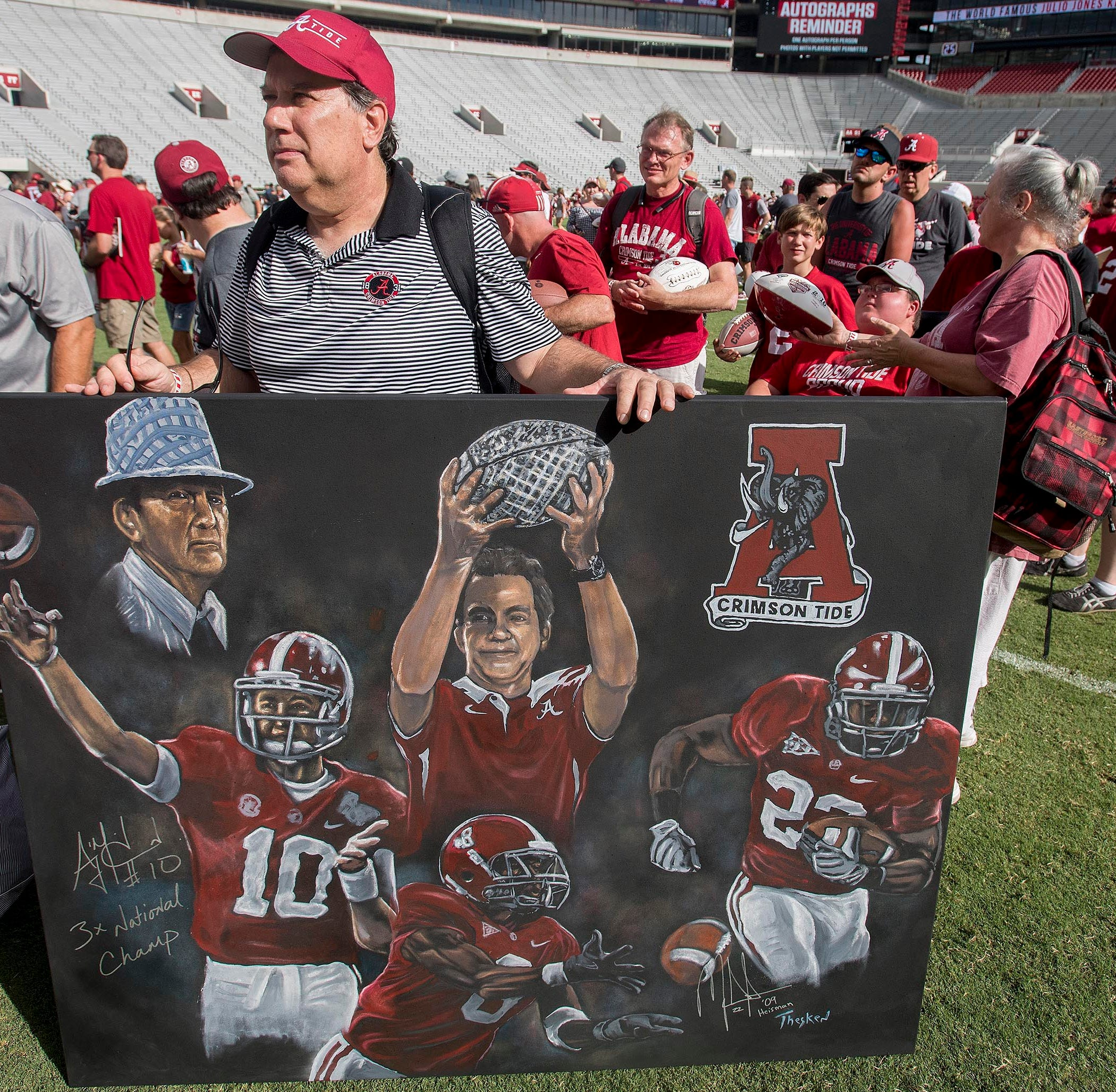 AP Top 25 poll: Alabama is No. 1 in preseason for third season in a row