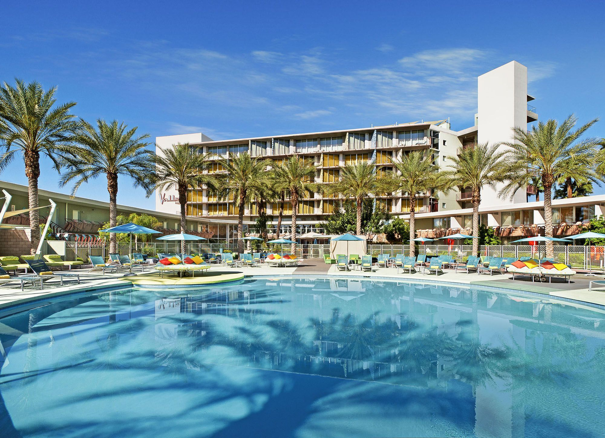 Hotel Valley Ho |  Deal: Rates start at $189 a night. Want to stay the entire long weekend? Check out the third night free special.  Activities: Pool party central with DJs, live music and drink specials.  Details:480-376-2600, hotelvalleyho.com.